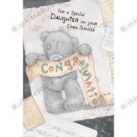Special Daughter on Your Exam Success Me To You Bear Card