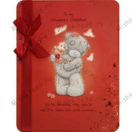 Girlfriend Valentines Me to You Bear Card Girlfriend Valentines Me to You Bear Card