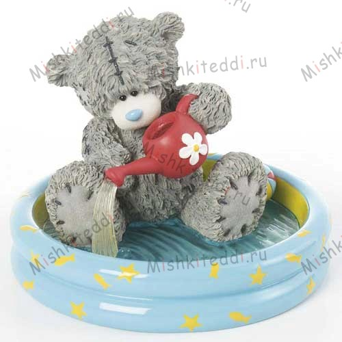 Splashing Around Me to You Bear Figurine Splashing Around Me to You Bear Figurine