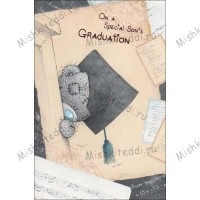 Special Sons Graduation Me to You Bear Card