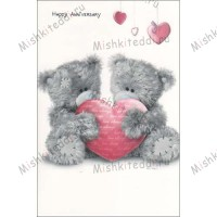 Happy Anniversary Me to You Bear Card