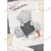 You have Graduated Me to You Bear Card