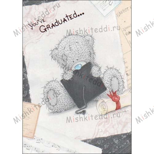 You have Graduated Me to You Bear Card You have Graduated Me to You Bear Card