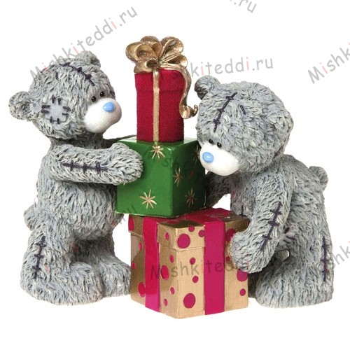Double The Excitement Me to You Bear Figurine Double The Excitement Me to You Bear Figurine