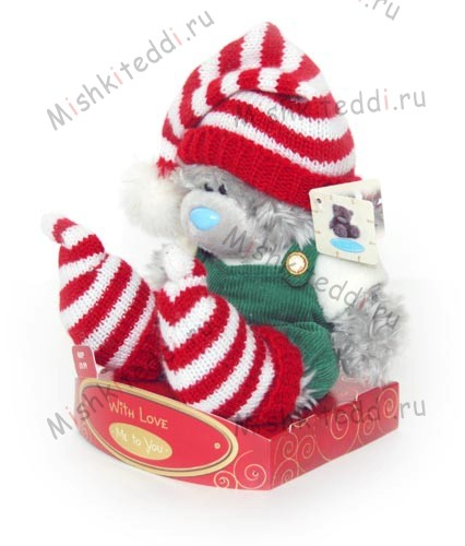 Мишка Тедди ME TO YOU 15 см в костюме эльфа - ME TO YOU TATTY TEDDY 02_G01W0300 31 ME TO YOU TATTY TEDDY
