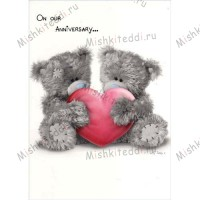 On Our Anniversary Me to You Bear Card