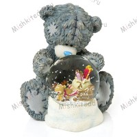 Me to You Tatty Teddy 'Snow Globe' figurine
