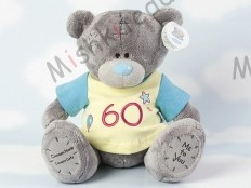 Мишка Тедди Me to You в футболке 31 см - Large Personalised Babysafe Tatty Teddy wearing a 60th T Shirt GYQ1243 165 Large Personalised Babysafe Tatty Teddy wearing a 60th T Shirt