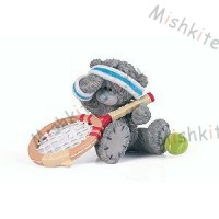 Me to You - Love All Tennis Tatty Teddy Figurine