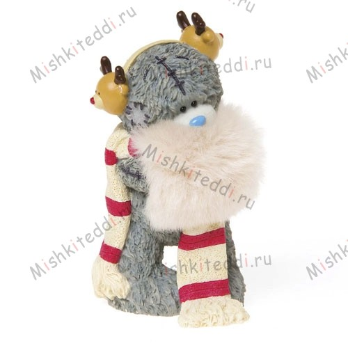 Winter Warmer Me to You Bear Figurine Winter Warmer Me to You Bear Figurine