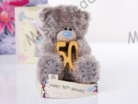 Мишка Тедди Me to You с 50-летием 15 см - 50th Birthday Tatty Teddy G01W1571 16