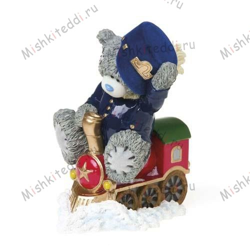 Choo Choo Me to You Bear Figurine (Sept Pre-Order) Choo Choo Me to You Bear Figurine (Sept Pre-Order)