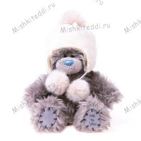 Мишка Тедди Me to You в шапочке - Cream Hat Me to You Bear  G01W1943 181