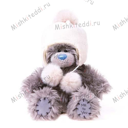 Мишка Тедди Me to You в шапочке - Cream Hat Me to You Bear  G01W1943 181 Cream Hat Me to You Bear