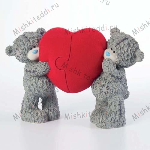 Locked in Love Me to You Bear Figurine Locked in Love Me to You Bear Figurine