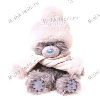 Мишка Тедди Me to You в шапочке и шарфике - Hat and Scarf Me to You Bear G01W1941 31