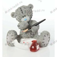 Message of Love Me to You Bear Figurine