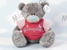 Мишка Тедди Me to You в футболке 31 см - Large Personalised Babysafe Tatty Teddy wearing a Daughter T Shirt GYQ0880 149 Large Personalised Babysafe Tatty Teddy wearing a Daughter T Shirt