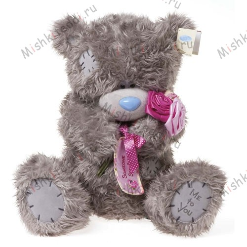Мишка Тедди Me to You с розой - Giant Me To You Bear GO1W1671 162 Giant Me To You Bear