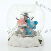 Snow Light Me to You Bear Figurine