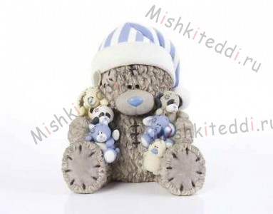 Me To You-My Blue Nose Friends Figurine-Tatty Teddy Me To You-My Blue Nose Friends Figurine-Tatty Teddy