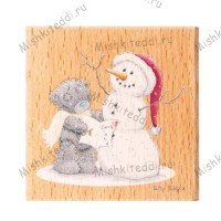 Snowman Me to You Bear Stamp