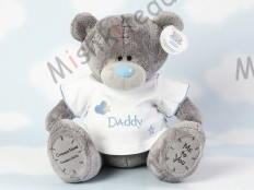 Мишка Тедди Me to You в футболке 31 см - Large Personalised Babysafe Tatty Teddy wearing a Daddy T Shirt GYQ0290 187 Large Personalised Babysafe Tatty Teddy wearing a Daddy T Shirt