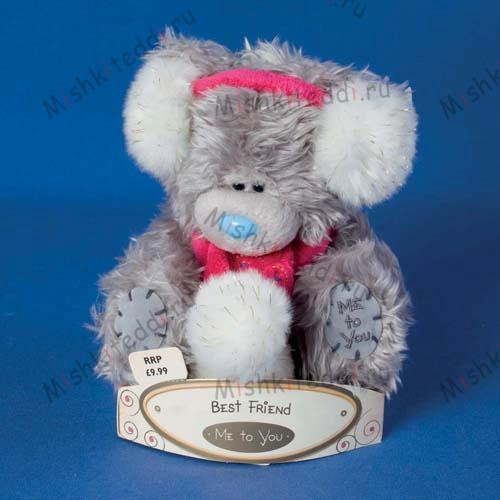 Мишка Тедди Me to You 15 см в наушниках Best Friend - Best Friend Me to You Bear G01W1377 118 Best Friend Me to You Bear
