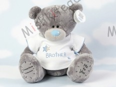 Мишка Тедди Me to You в футболке 31 см - Large Personalised Babysafe Tatty Teddy wearing a Brother T Shirt GYQ0284 139 Large Personalised Babysafe Tatty Teddy wearing a Brother T Shirt