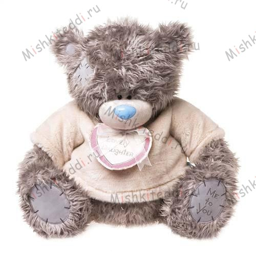 Мишка Тедди Me to You в кофточке - Daughter Me to You Bear  G01W1945 192 Daughter Me to You Bear