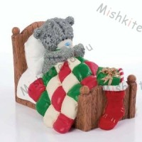Santas Been Me to You Bear Figurine