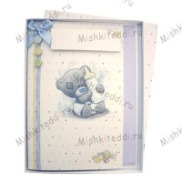 Baby Boy Me to You Bear Boxed Card