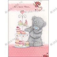 Niece Birthday Me to You Bear Card