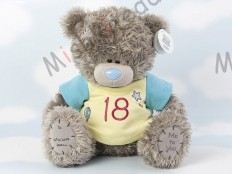 Мишка Тедди Me to You в футболке 31 см - Large Personalised Tatty Teddy wearing a 18th T Shirt GYQ1238 127 Large Personalised Tatty Teddy wearing a 18th T Shirt