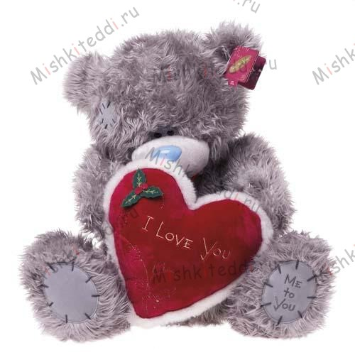 Мишка Тедди Me to You с сердцем - Love You Heart Me to You Bear  G01W1216 34 Love You Heart Me to You Bear