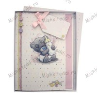 Baby Girl Me to You Bear Boxed Card