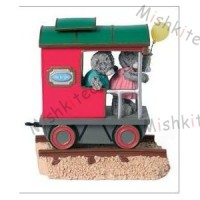 Me to You - Tatty Teddy Express Train Carriage - Flying Along The Tracks - Limited Edition Figurine