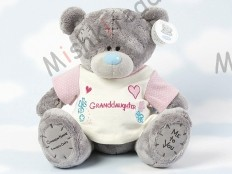 Мишка Тедди Me to You в футболке 31 см - Large Personalised Babysafe Tatty Teddy wearing a Granddaughter T Shirt G01Q0466 34 Large Personalised Babysafe Tatty Teddy wearing a Granddaughter T Shirt