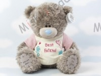 Мишка Тедди Me to You в футболке 31 см - Large Personalised Tatty Teddy wearing a Best Friend T Shirt G01Q0464 180