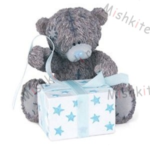 Me to You Bears - Wrapped in Blue Me to You Bears - Wrapped in Blue