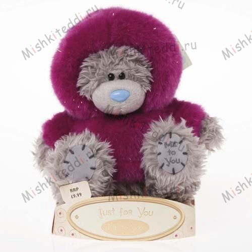 Мишка Тедди Me to You 15 см в шубке Just For You - Just For You Fur Coat Me to You Bear G01W1362 80 Just For You Fur Coat Me to You Bear