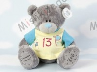 Мишка Тедди Me to You в футболке 31 см - Large Personalised Babysafe Tatty Teddy wearing a 13 T Shirt G01Q0381 109
