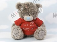 Мишка Тедди Me to You в футболке 31 см - Large Personalised Tatty Teddy wearing a Marry Me T Shirt G01Q0149 153