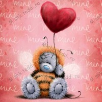 Tatty in Bee Costume Valentines Me to You Bear Card