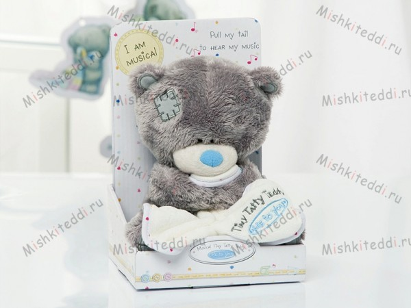Мишка Тедди Me to You музыкальный 21 см - Musical Tiny Tatty Teddy G92W0030 189 Musical Tiny Tatty Teddy