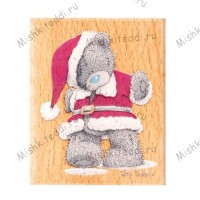 Santa Me to You Bear Stamp