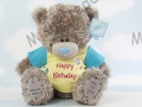 Мишка Тедди Me to You в футболке 31 см - Large Personalised Tatty Teddy wearing a Happy Birthday T Shirt G01Q0144 30