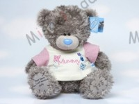 Мишка Тедди Me to You в футболке для мамы 23 см - Personalised Plain Footpad Tatty Teddy wearing Mummy T Shirt GYQ0879 152