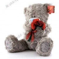 Мишка Тедди Me to You с розой - Large Me To You Tatty Teddy Bear Holding Roses G01W0487 176