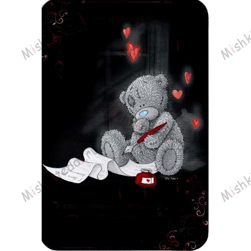 Tatty Looking out Window Valentines Me to You Bear Card Tatty Looking out Window Valentines Me to You Bear Card